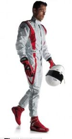 TUTA ALPINESTARS K-MX 9 RED-WITE